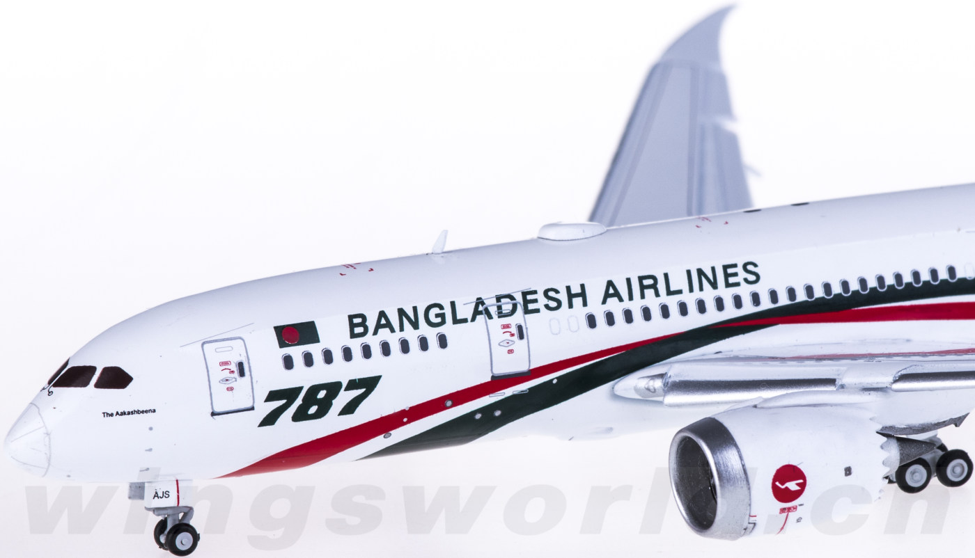 jc wings 1:400 lh4125a biman 孟加拉航空 boeing 787-8 dreamliner