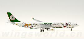 EVA Air 长荣航空 Airbus A330-300 B-16331 Hello Kitty 魔法机