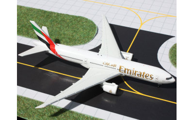 Geminijets 1:400 阿联酋航空 Boeing 777-200LR A6-EWE