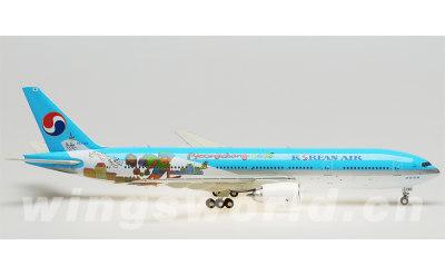 JC Wings 1:200 大韩航空 Boeing 777-200ER HL7752 平昌2018冬奥会涂装
