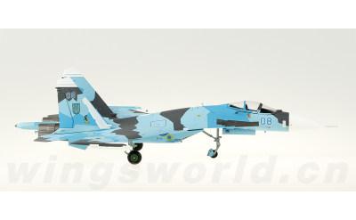 乌克兰空军 Sukhoi Su-27 08