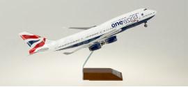 英国航空 Boeing 747-400 G-CIVK 寰宇一家