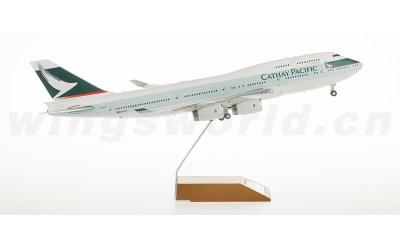 JC Wings 1:200 国泰航空 Boeing 747-400 B-HUI RR引擎