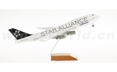 JC Wings 1:200 汉莎航空 Boeing 747-400 D-ABTH 星空联盟