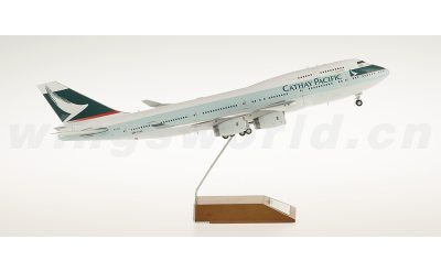 JC Wings 1:200 Cathay Pacific 国泰航空 Boeing 747-400 B-HUI