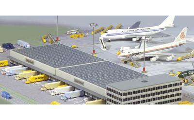 Herpa 1:500 机场建筑:货运中心