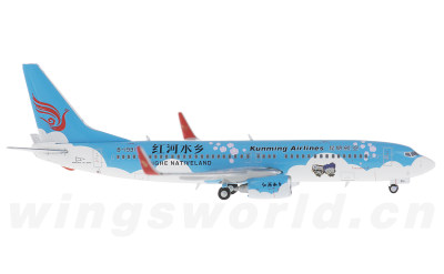 JC Wings 1:400 昆明航空 Boeing 737-800 B-1991 红河水乡