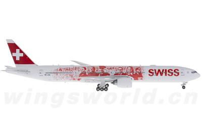 Phoenix 1:400 瑞士国际航空 Boeing 777-300ER HB-JNA 员工彩绘