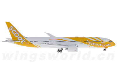 Phoenix 1:400 新加坡酷航 Boeing 787-9 9V-OJA
