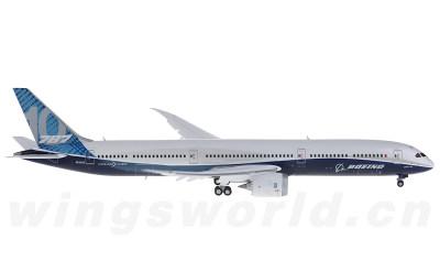JC Wings 1:400 Boeing 787-10 N528ZC 原厂涂装 襟翼打开