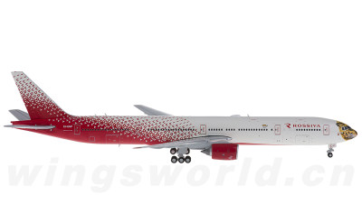 JC Wings 1:400 Rossiya Boeing 777-300 EI-UNP 远东豹彩绘