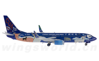 Phoenix 1:400 China United Airlines 中国联合航空 Boeing 737-800 B-5665 包头号