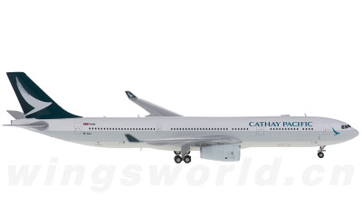 JC Wings 1:400 Cathay Pacific 国泰航空 Airbus A330-300 B-LAJ
