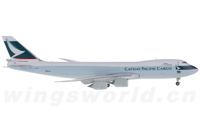 Phoenix 1:400 Cathay Pacific 国泰航空 Boeing 747-8F B-LJC 货机 第100架