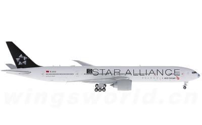 JC Wings 1:400 Air China 中国国际航空 Boeing 777-300ER B-2032 星空联盟彩绘蓝鼻子