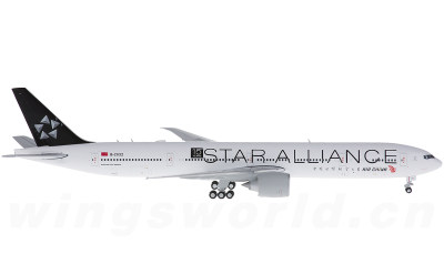 JC Wings 1:400 Air China 中国国际航空 Boeing 777-300ER B-2032 星空联盟彩绘