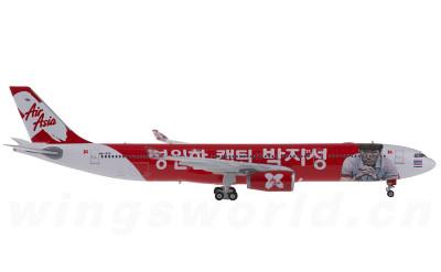Phoenix 1:400 AirAsia 亚洲航空 Airbus A330-300 HS-XTC