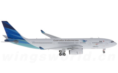 Phoenix 1:400 印度尼西亚鹰航 Airbus A330-200 PK-GPS