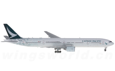 JC Wings 1:400 Cathay Pacific 国泰航空 Boeing 777-300 B-HNK 回归20周年彩绘