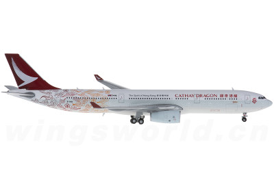 JC Wings 1:400 Cathay Dragon 国泰港龙航空 Airbus A330-300 B-HYB 回归20周年彩绘