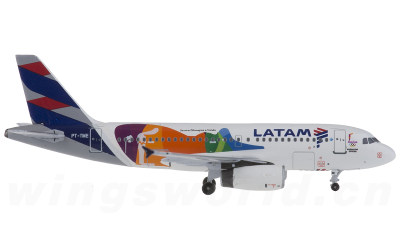 AeroClassics 1:400 LATAM Airbus A319 PT-TME 里约奥运彩绘