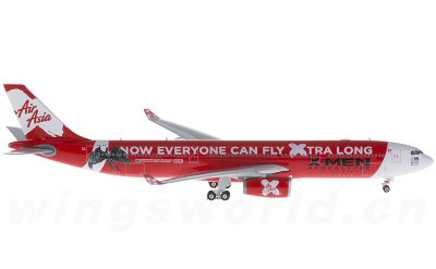Phoenix 1:400 亚洲航空 Airbus A330-300 9M-XXU X-MAN