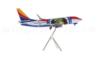Geminijets 1:200 美国西南航空 Boeing 737-700 N280WN 密苏里一号