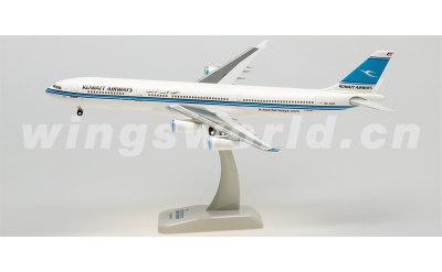 Hogan 1:200 科威特航空 Airbus A340-300 9K-ANA