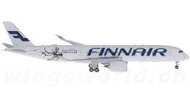 Finnair 芬兰航空 Airbus A350-900 OH-LWD 节日快乐彩绘