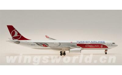 SKY500 1:500 土耳其航空 Airbus A330-300 TC-JNI 伊斯坦布尔2020彩绘