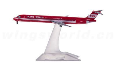 TWA 环球航空  McDonnell Douglas MD-83 N948TW