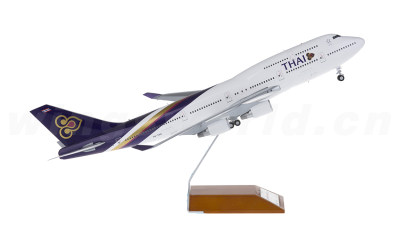 JC Wings 1:200 泰国国际航空 Boeing 747-400 HS-TGG