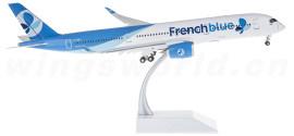 French Blue 法国蜜蜂航空 Airbus A350-900 F-HREU 襟翼打开