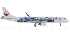 Japan Airlines 日本航空 Embraer ERJ-190 JA248J 小黄人彩绘