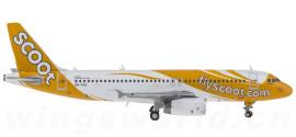 新加坡酷航 Airbus A320 9V-TAZ