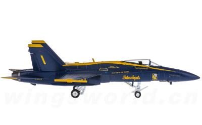 美国海军 McDonnell Douglas F/A-18 蓝天使飞行表演队 1号机