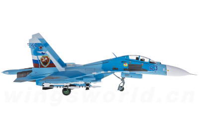 JC Wings 1:72 俄罗斯空军 Sukhoi Su-27UB 43