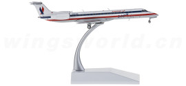 美国航空 Embraer ERJ-145LR N643AE 200TH彩绘