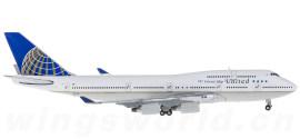 United Airlines 美国联合航空 Boeing 747-400 N121UA 747 友谊