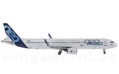 Airbus A321Neo F-AVXA 原厂涂装 PW发动机