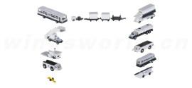 机场附件: 地勤车辆14件