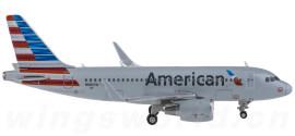 美国航空 Airbus A319 N8027D