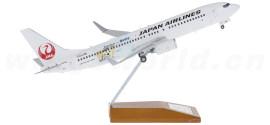 Japan Airlines 日本航空 Boeing 737-800 JA318J 达菲熊彩绘