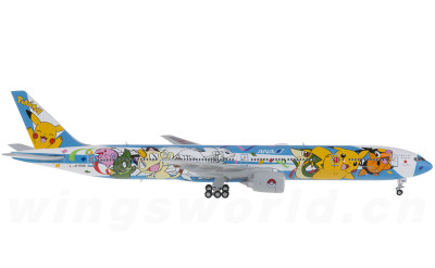 JC Wings 1:400 ANA 全日空 Boeing 777-300 JA754A 皮卡丘