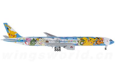 全日空 Boeing 777-300 JA754A 皮卡丘襟翼打开