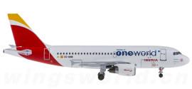 Iberia 西班牙国家航空 Airbus A319 EC-KHM 寰宇一家