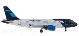 Mexicana 墨西哥航空 Airbus A319 XA-NCA