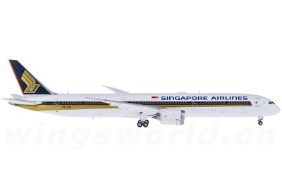 JC Wings 1:400 Singapore Airlines 新加坡航空 Boeing 787-10 9V-SCB