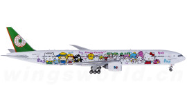 EVA Air 长荣航空 Boeing 777-300ER B-16703 Hello Kitty 牵手机