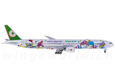Phoenix 1:400 EVA Air 长荣航空 Boeing 777-300ER B-16722 Hello Kitty 星空机